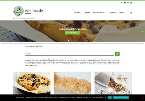 Andrina.de – das nachhaltige Blogazine