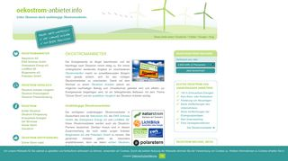 Ökostrom-Anbieter