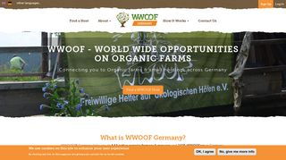 World-Wide Opportunities on Organic Farms